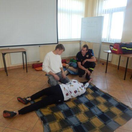 Szkolenie pierwszej pomocy przedmedycznej w szkole
